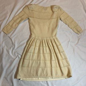 American Eagle Outfitters Dresses - American Eagle Cream Knit Dress, XS